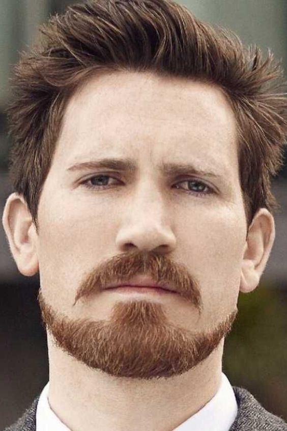 Борода в стилі «Бальбо» без бакенбардів