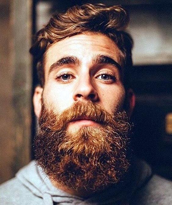 Красива і густа борода — ознака міцного здоров'я