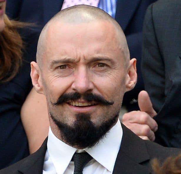 Загострена борода «Якір» підкреслює нижню щелепу