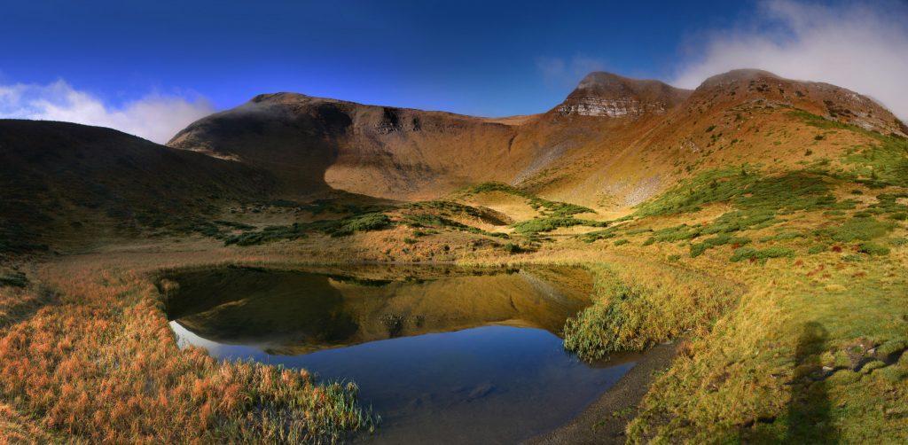 Горное озеро Ивор