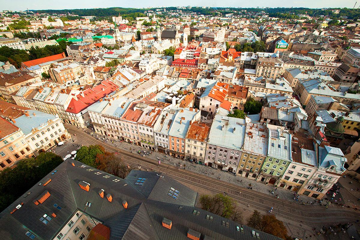 Львов Достопримечательности фото всех красивых мест что посмотреть путеводитель на карте экскурсии куда пойти