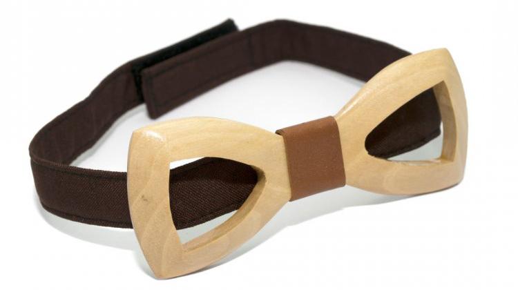Деревянная галстук-бабочка Gofin wood