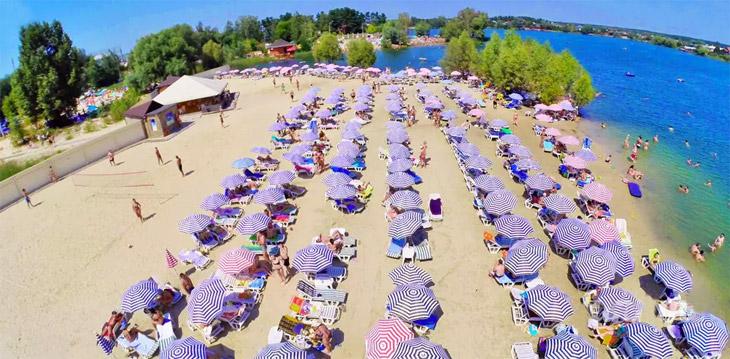 Рай для пляжников