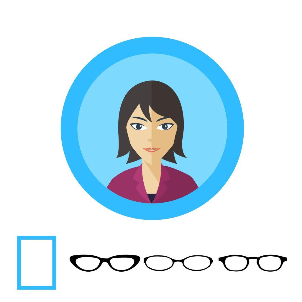 Очки для квадратной формы лица: вайфареры, авиаторы и кошачий глаз, бабочки, квадратные или прямоугольные, лисички.