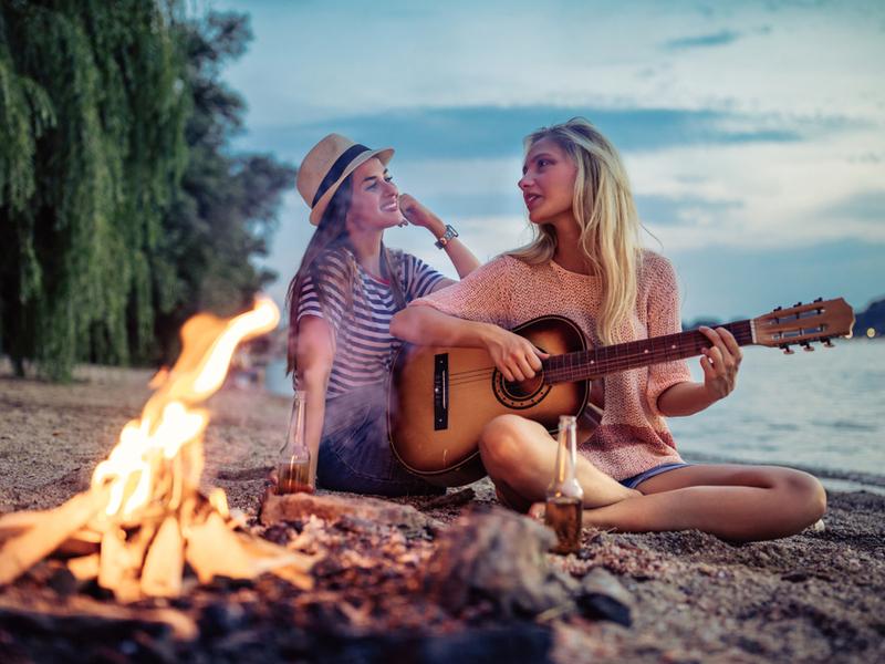 Киевское море идеально подойдет для похода на выходные