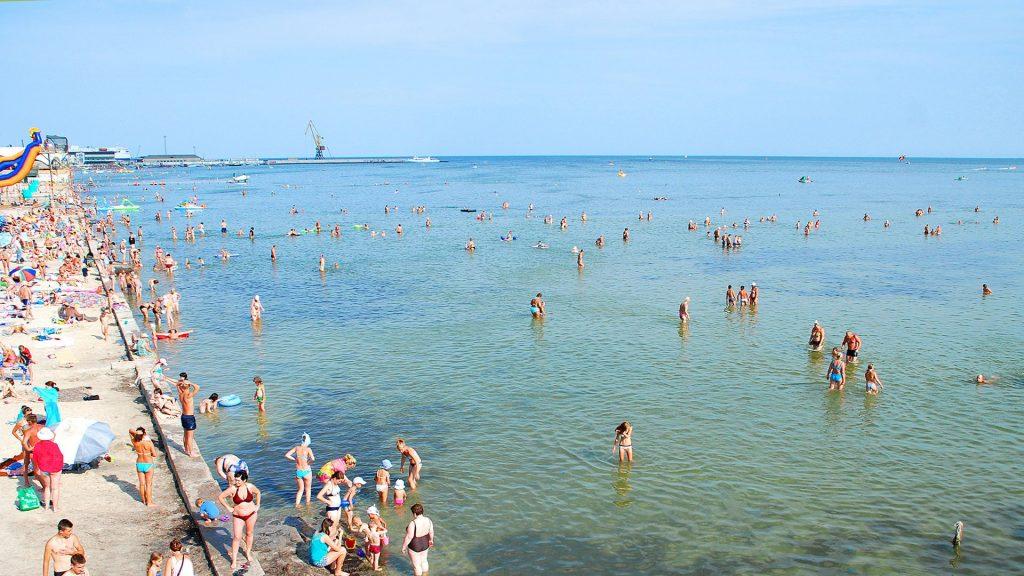Скадовский пляж