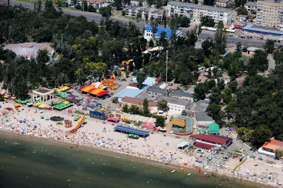 Пляжи Лузановки