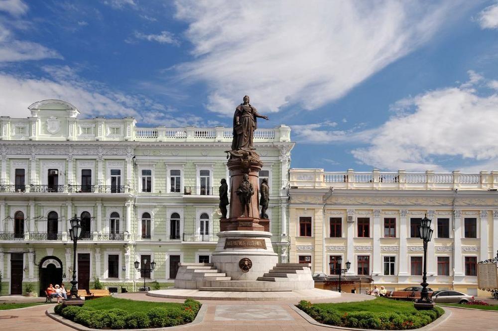 Монумент отцам-основателям Одессы