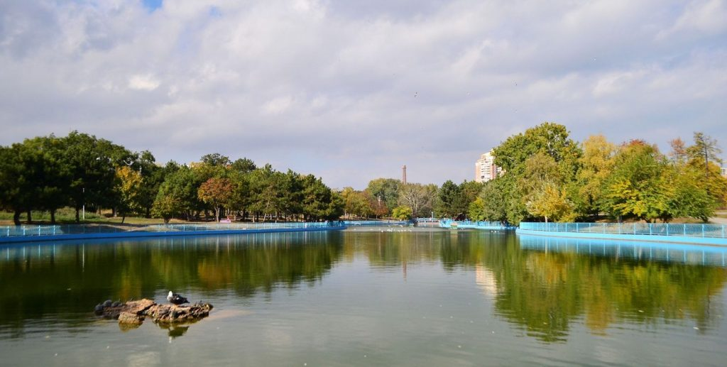 Парк Победы в Одессе.