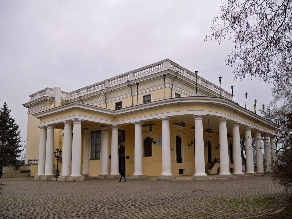 Воронцовский дворец, ¾ оборота.