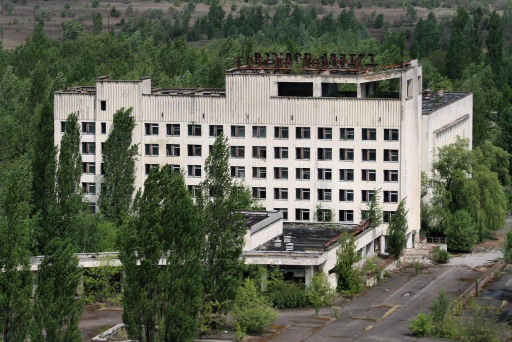 Готель «Полісся» став штабом ліквідаторів наслідків аварії на ЧАЕС