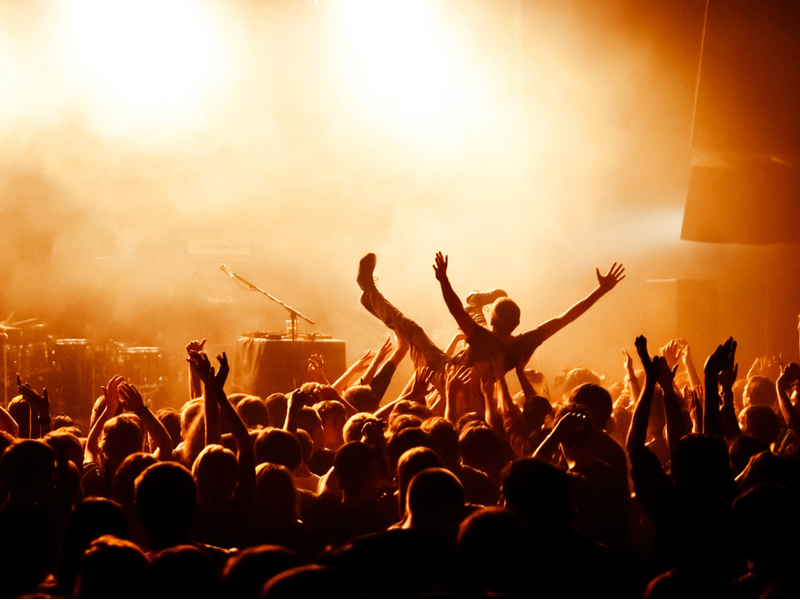 Супер-атмосфера рок-концерту на фестивалі забезпечена
