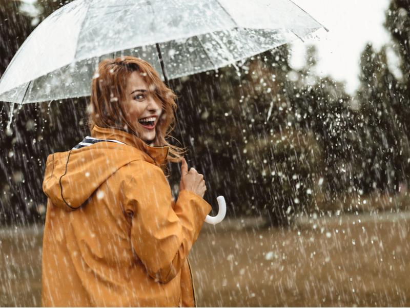При хорошей подготовке даже дождь не помешает фотосету