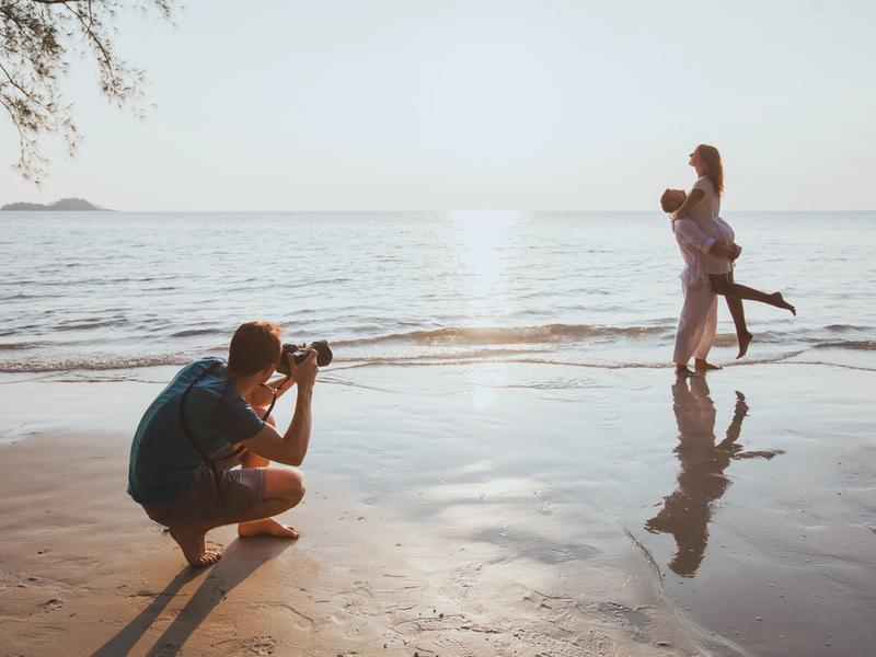 Зйомки на природі складніші для фотографа, проте ви отримаєте оригінальні кадри