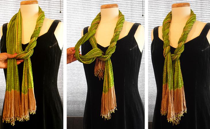 «Закручений шарф»