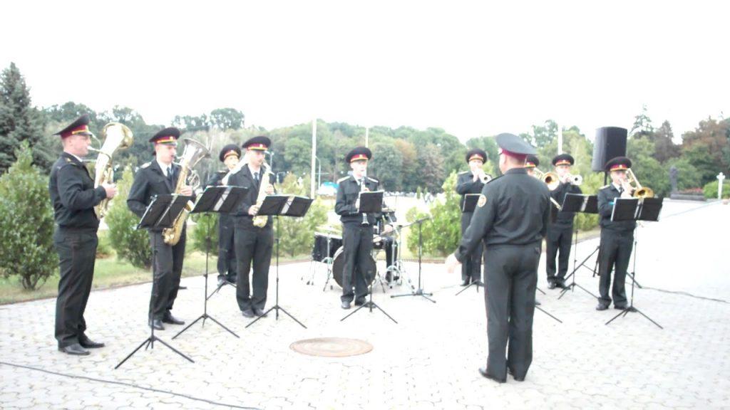 военный оркестр в Виннице