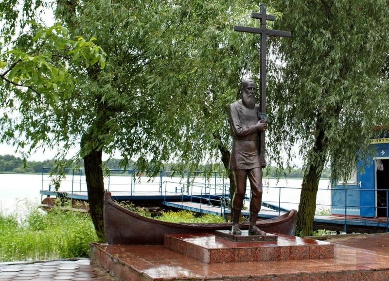 Пам'ятник липовану-засновнику Вилкова