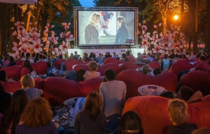 фильмы под открытым небом в Виннице