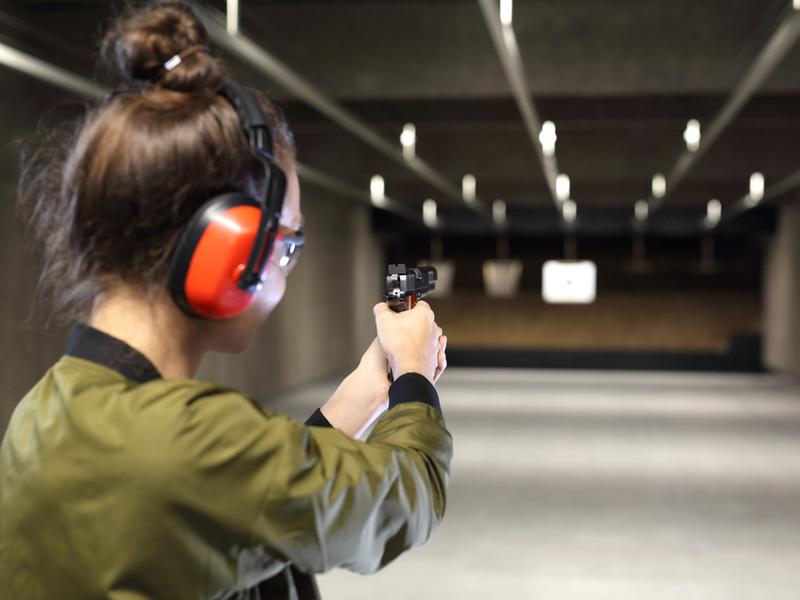 Стрельба помогает сбросить стресс