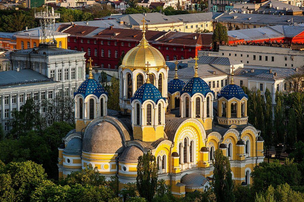 Владимирский собор сверху
