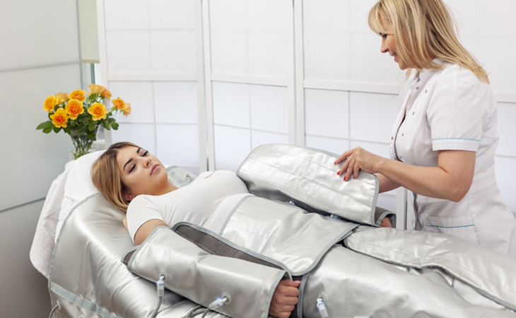 Пресотерапія - різновид лімфодренажу