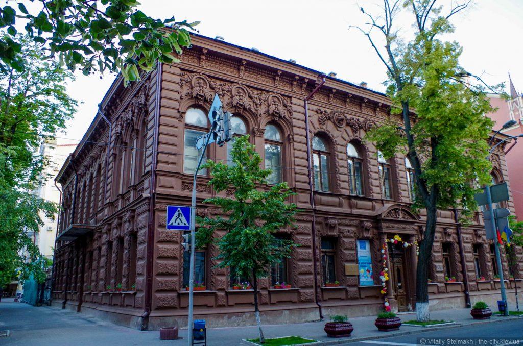 Фасад Шоколадного домика