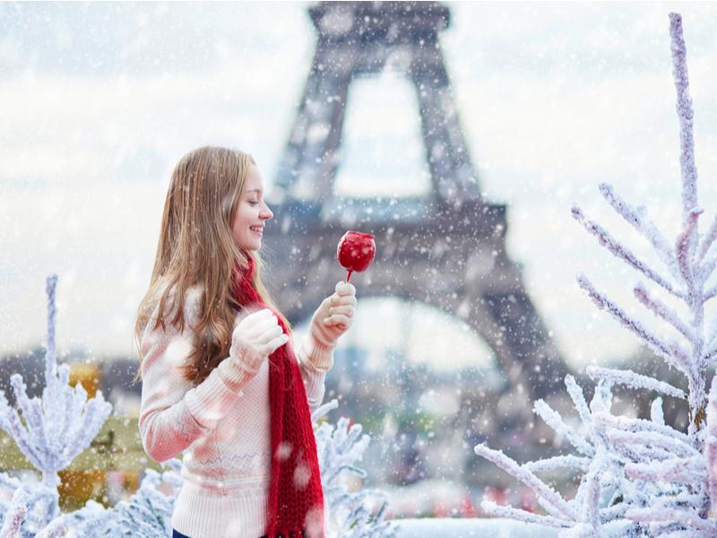 Париж в новый год ㅡ особенное место