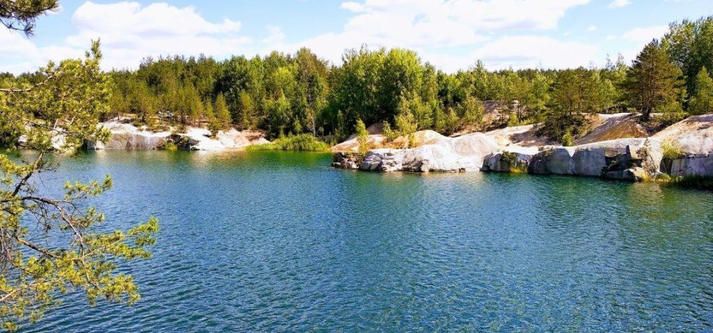 Озеро Гранитный карьер