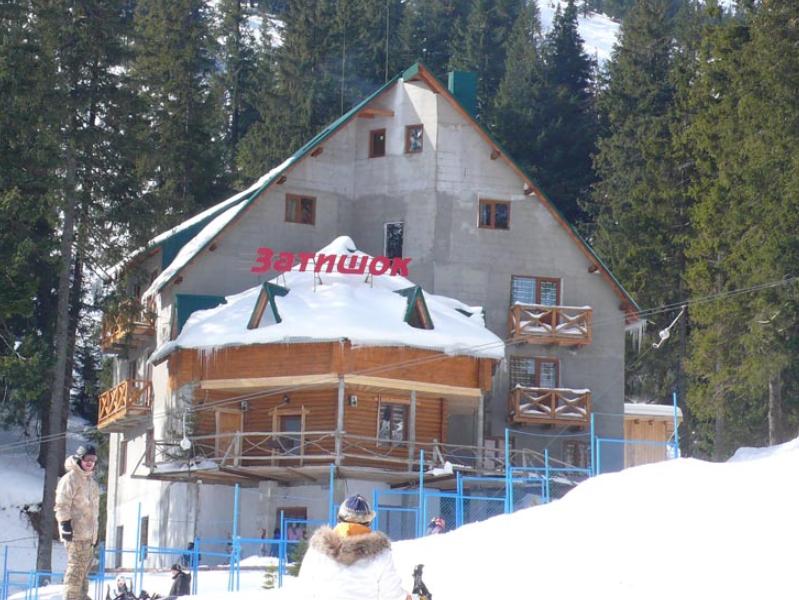 Уютный отель прямо в горах