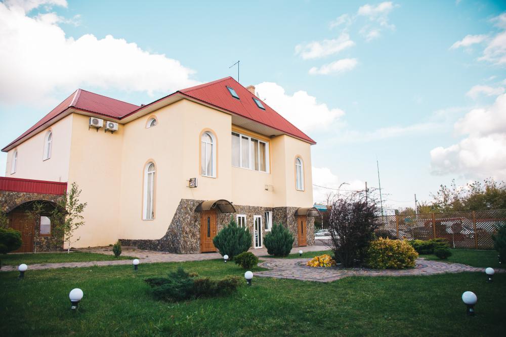 Мотель «Вояж», вид со двора