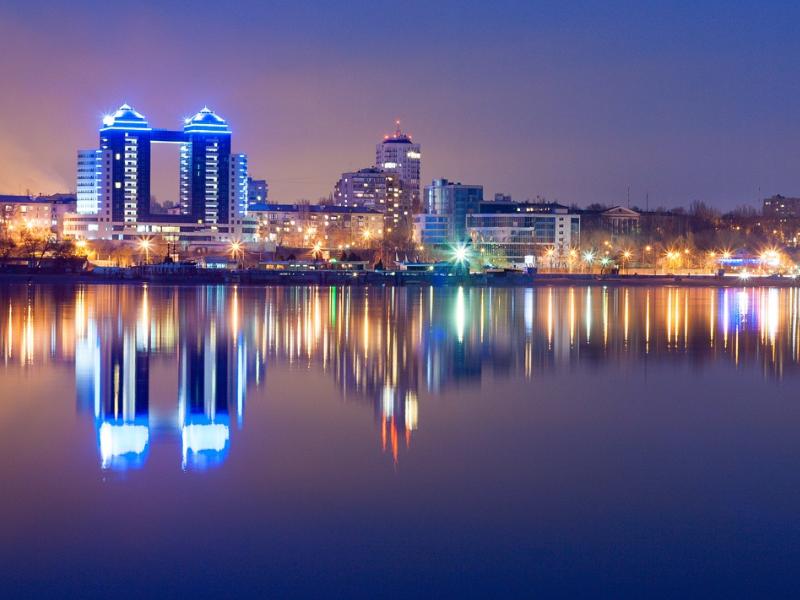 Прекрасный ночной город