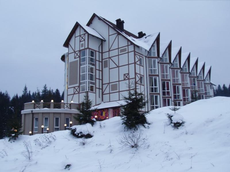 Отель расположен в уединенном месте