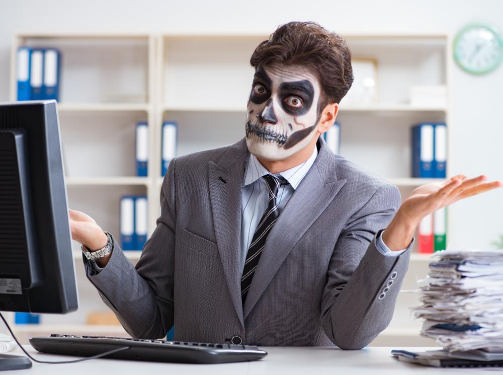 Костюм на Хэллоуин в офис