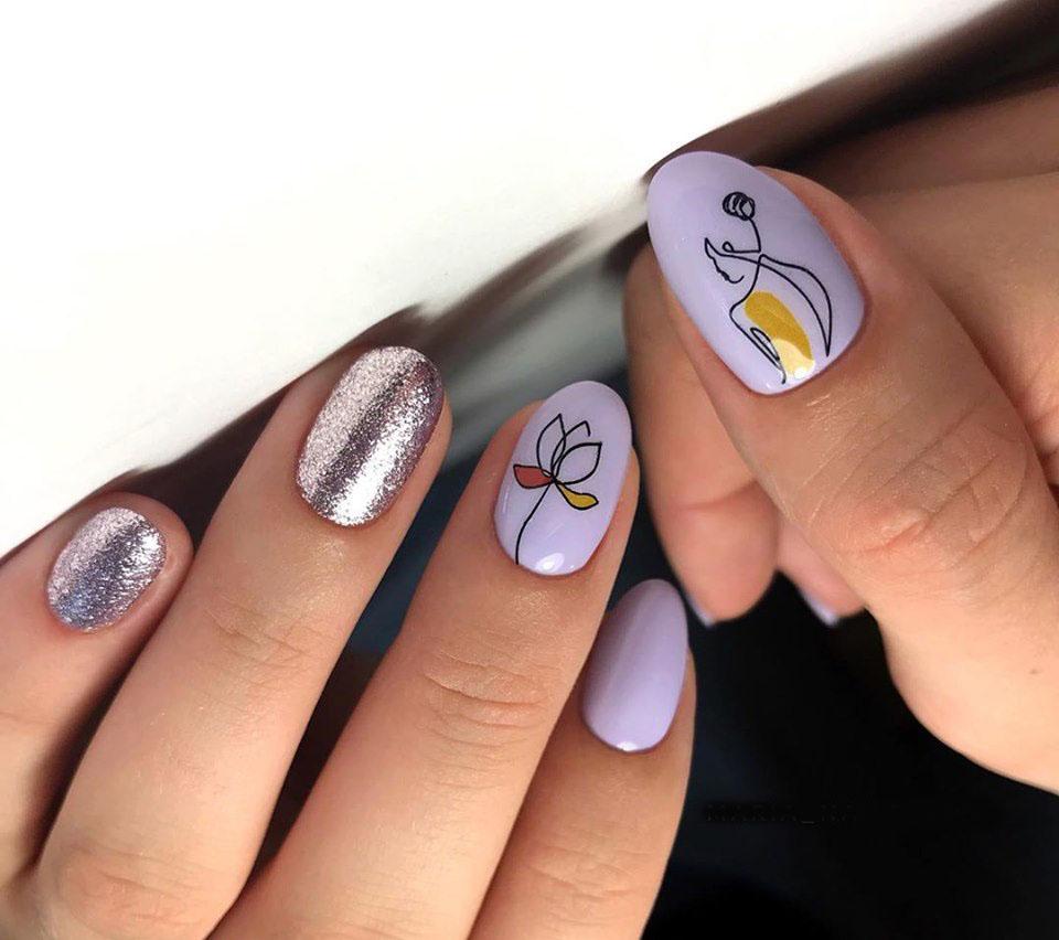 Наклейки на ногти 12