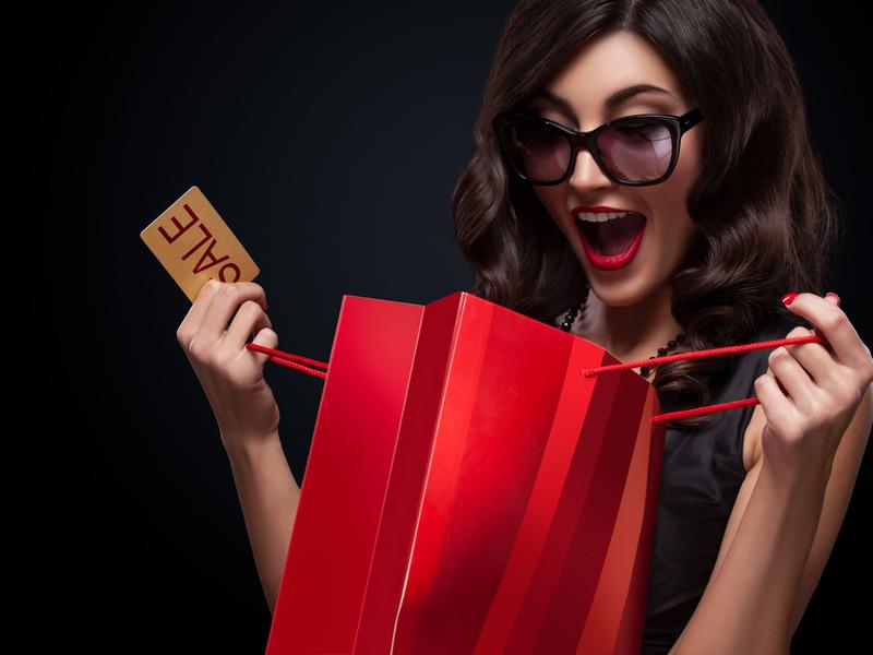 Распродажа 一 отличный повод купить подарки