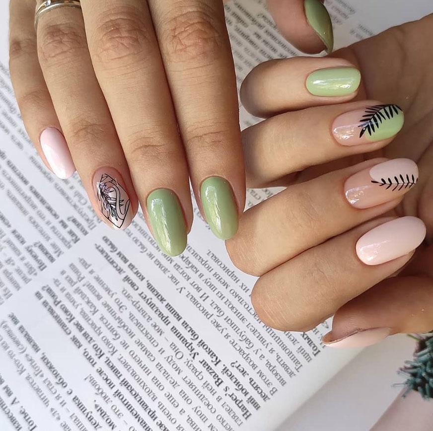 Наклейки на ногти 1