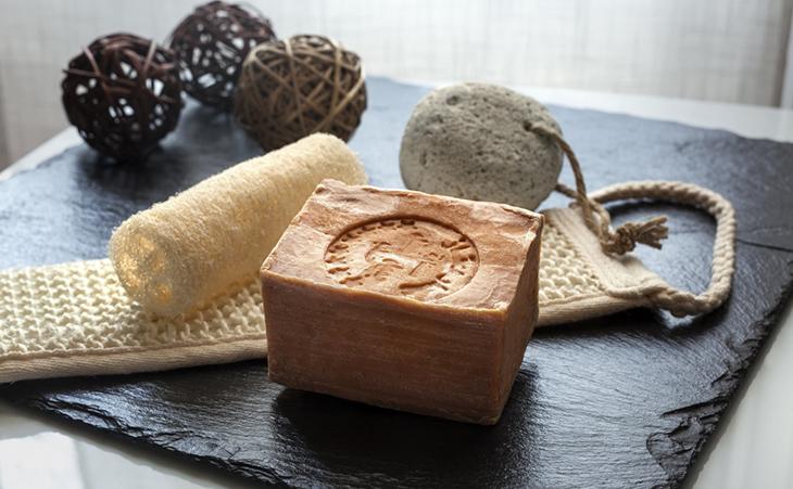 Натуральное мыло для хамама