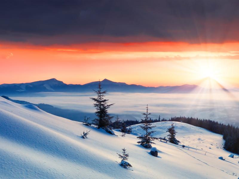 Драгобрат ㅡ самый высокогорный курорт