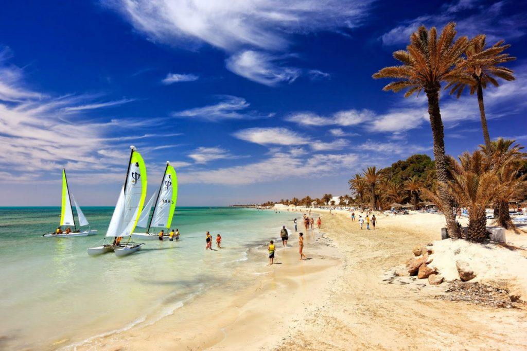 Острів Джерба, Туніс – теплий курорт в листопаді, де можна зустріти рожевих фламінго