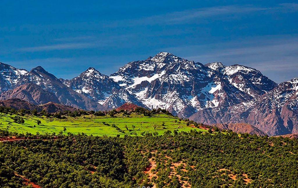 Гора Тубкаль – найвища вершина Атлаських гір і Марокко