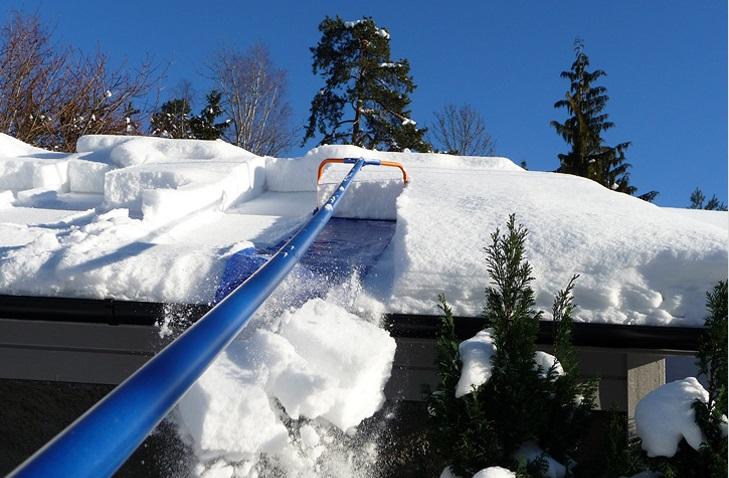 Уборка снега с крыши:  «Лавина»