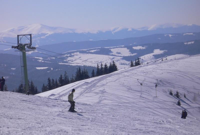 Славское: горнолыжные трассы