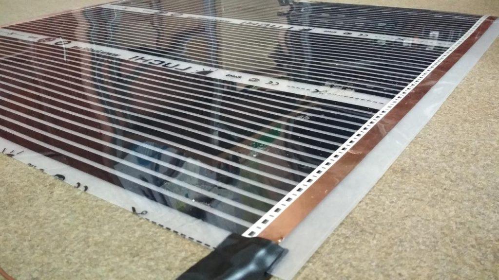 Инфракрасный или электрический пленочный теплый пол