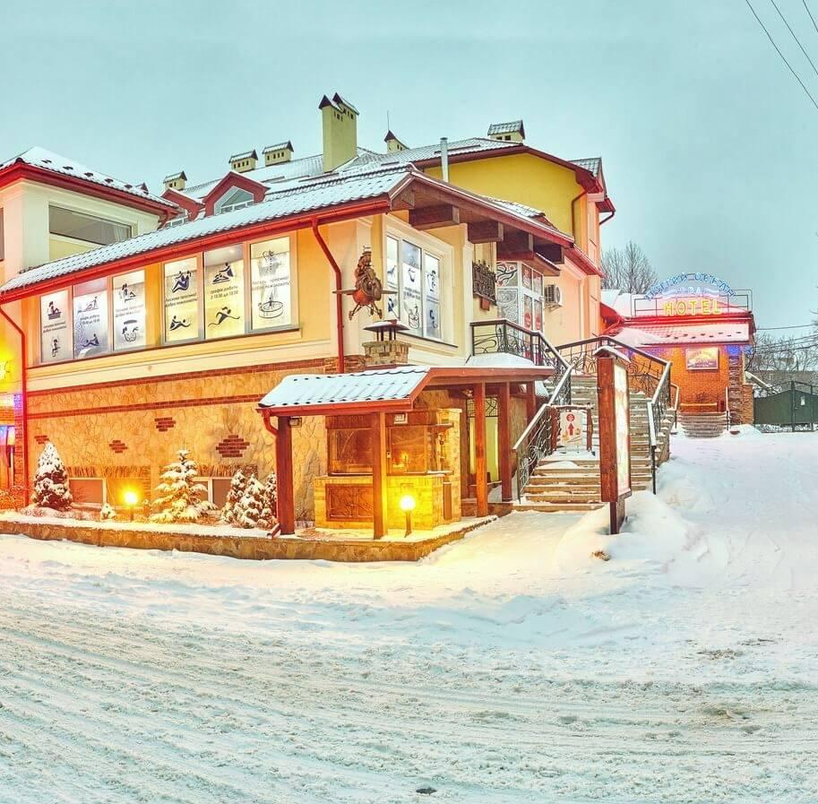 SPA-отель «Пятый океан» – отдых в Карпатах зимой