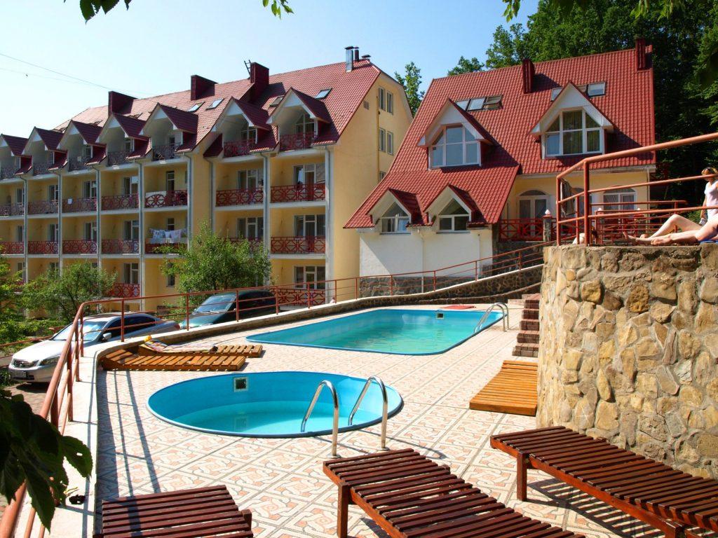 Санаторий «Солнечный» в Карпатах – возьмите на заметку летом, весной, осенью и зимой