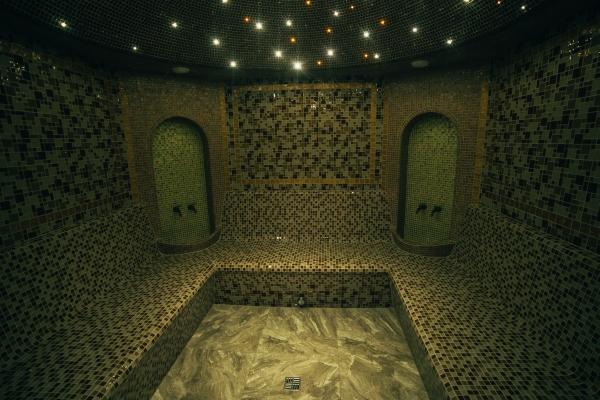 Турецкий хамам в отеле «Срибнэ Джерело» для тех, кто любит Карпаты осенью, зимой и весной