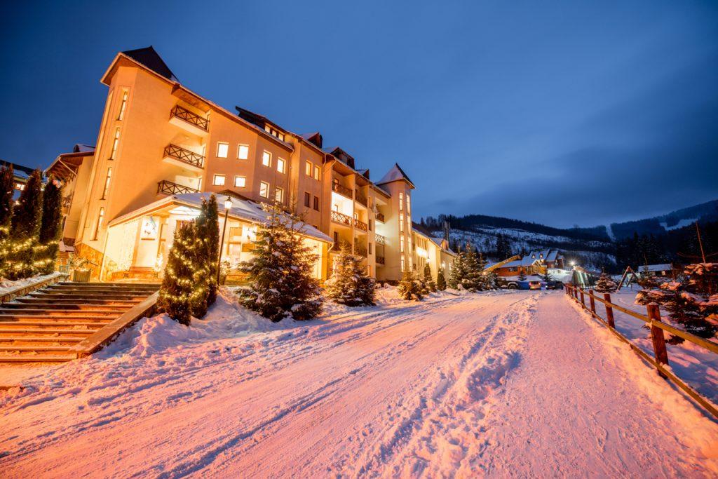 Зимний отдых в Карпатах, отель «Захар Беркут»