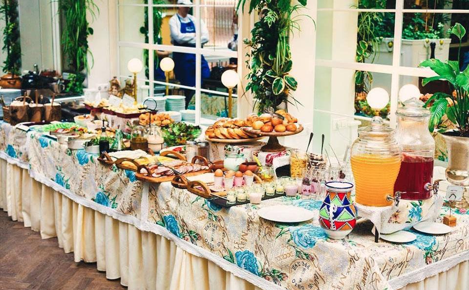 Завтрак в ресторации Бачевских Львов