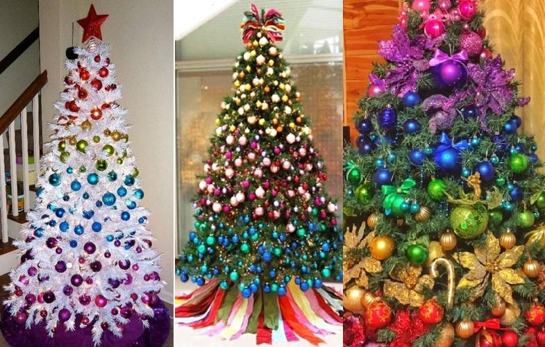 Кольцевой стиль для декора елки