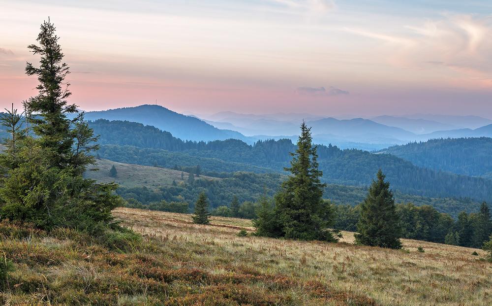 Красота Карпатских гор: Славское